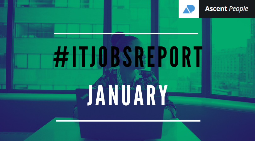 IT Jobs Report January – Light at the end of the tunnel