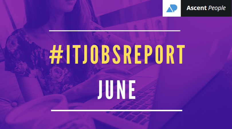 IT Jobs Report June – One Certain Direction?