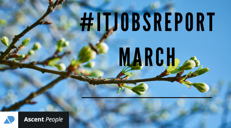 IT Jobs Report March – The State of the UK Jobs Market