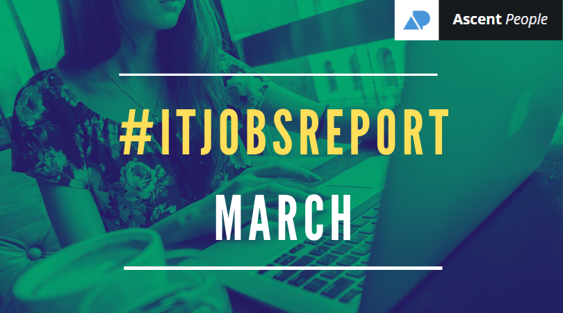 IT Jobs Report March – Brexit Uncertainty Replaced by Economic Optimism Replaced by COVID-19 Uncertainty